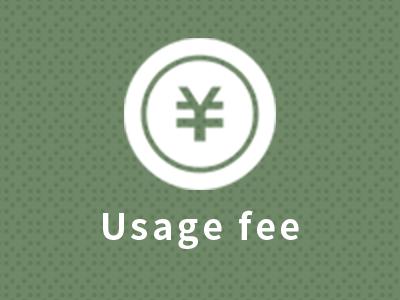 Usage fee
